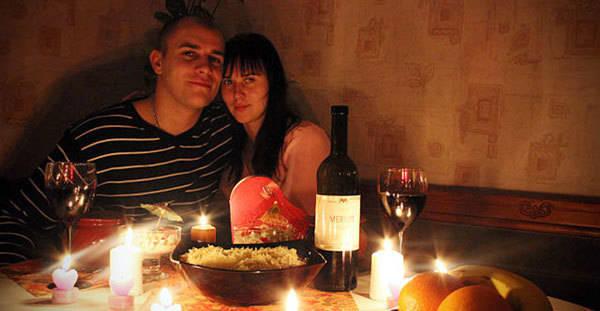 Как мужу сделать романтический вечер