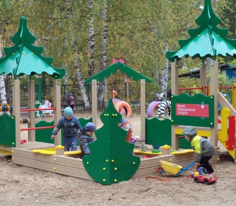 Игровая площадка детский сад
