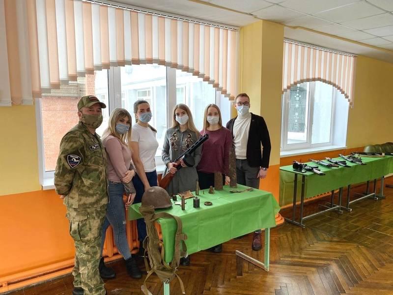 Члены поискового отряда «ШТУРМ» провели презентацию подшефного военно-патриотического клуба «Баграм»